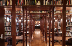 La Biblioteca de la Fundació Antoni Tàpies.              | Dàlia R. Bonet