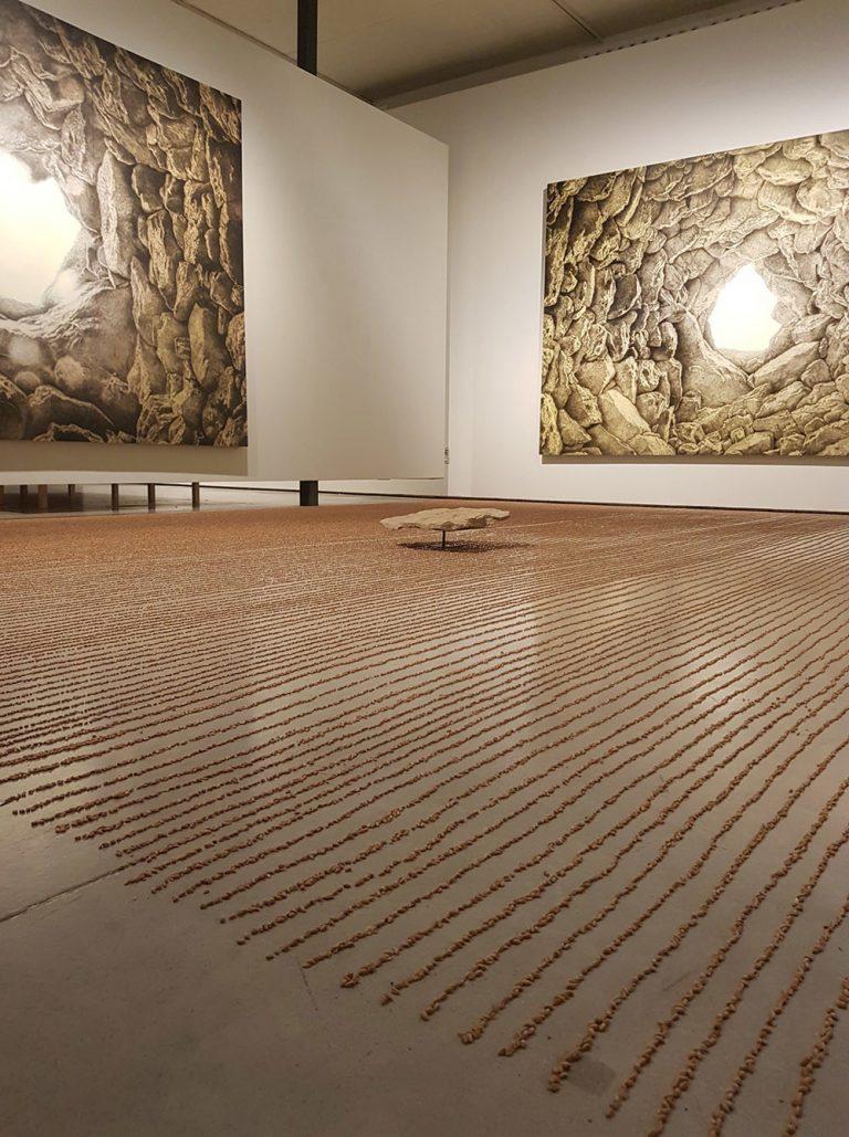 L'exposició 'Llindar i celístia' de Jordi Fulla es divideix en cinc àmbits. Fundació Vila Casas