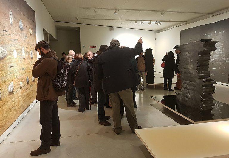 Inauguració de l'exposició 'Llindar i celístia' de Jordi Fulla. Foto: Fundació Vila Casas.