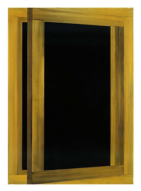 """José Maldonado, 'Ventana II', 1989. Col·lecció """"la Caixa"""" d'Art Contemporani"""