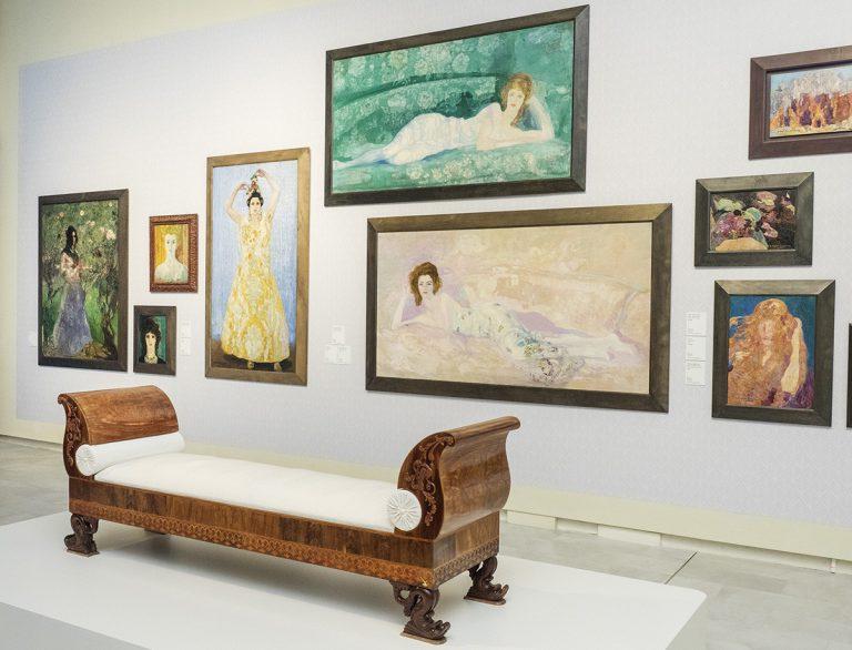 L'obra social 'La Caixa' presenta la nova disposició de la sala permanent dedicada al pintor Anglada-Camarasa | CaixaForum