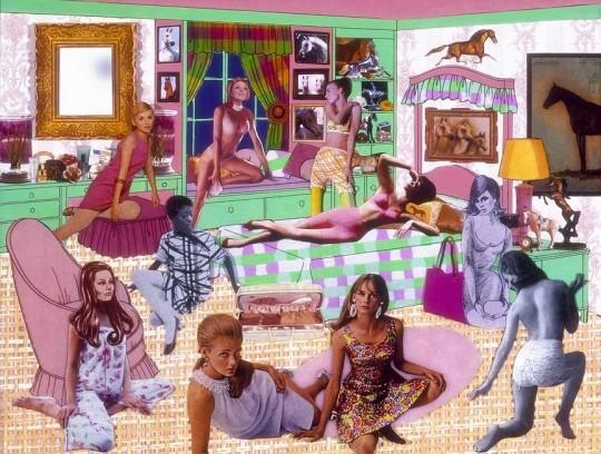 """The instant decorator"", de Laurie Simmons. Obra de la col·lecció de l'IVAM."
