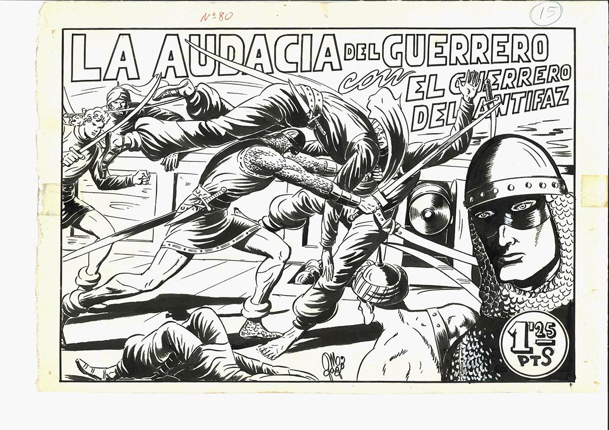 El guerrero del antifaz              | Manuel Gago