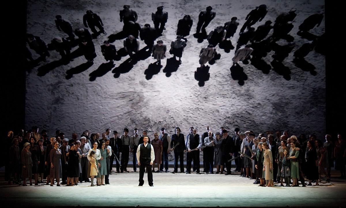 Imatge escènica del darrer 'Nabucco' de Verdi representat al Liceu              | A. Bofill