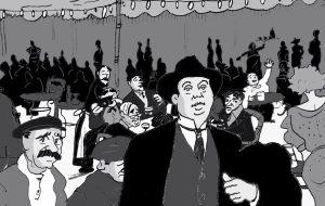 Salvador Seguí, el Noi del Sucre, personatge de còmic per obra de Lluís Juste de Nin              | Juste de Nin