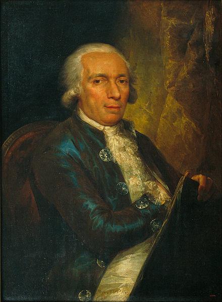 Retrat del valencià Pasqual-Pere Moles, primer director de l'escola de Llotja de Barcelona, oli per Vicent López (1794-96). Barcelona, MNAC.