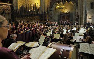 El 'Rèquiem' de Verdi ha ressonat en la cerimònia de comiat a Montserrat Caballé              | Antoni Bofill