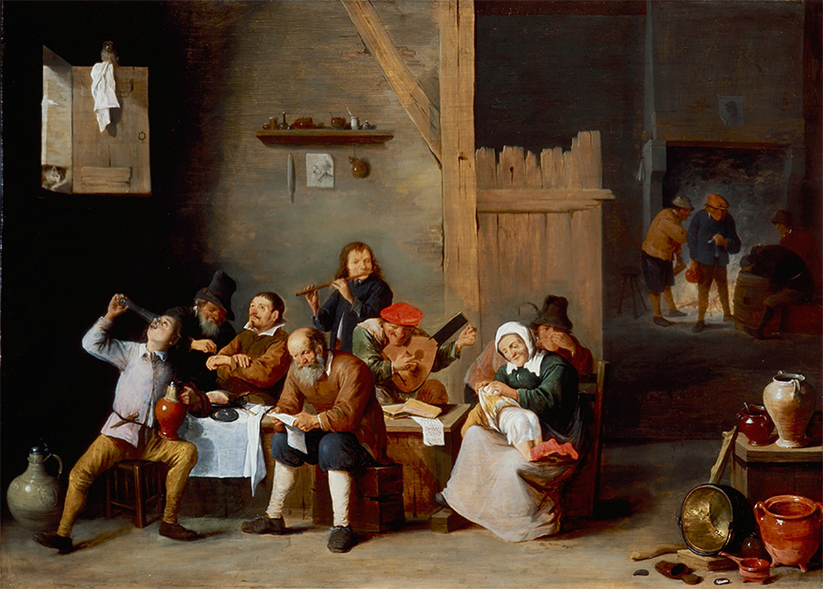 'Els cinc sentits', 1645              | Musée d'Art et Historie de Genève