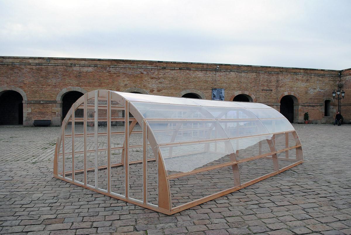 'Impasse', una instal·lació de Julia Calvo              | ICUB