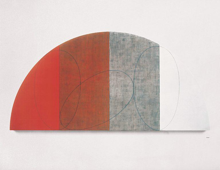 """Robert Mangold, 'Pla corb / Figura XI', 1995. Col·lecció """"la Caixa"""" d'Art Contemporani. © Robert Mangold, VEGAP"""