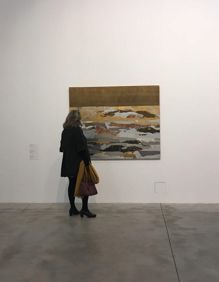 L'exposició 'Anna-Eva Bergman. De Nord a Sud, ritmes', al Bombas Gens Centre d'Art