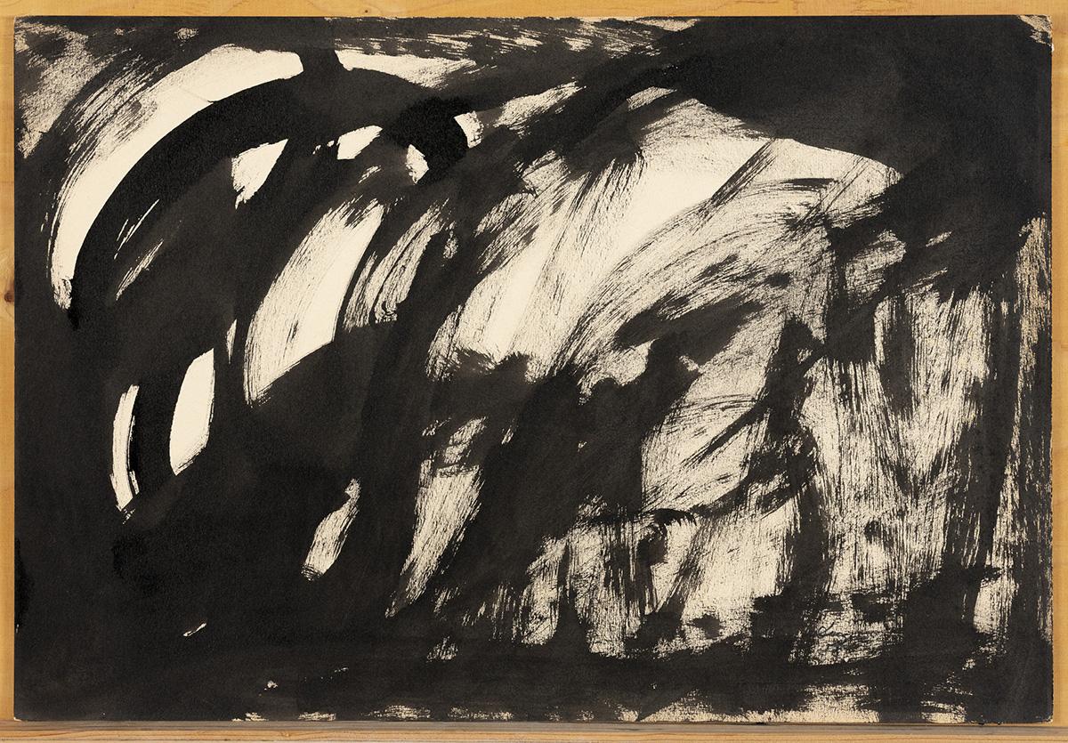 Sense titol, 1958. Tinta sobre paper              | Manuel Duque