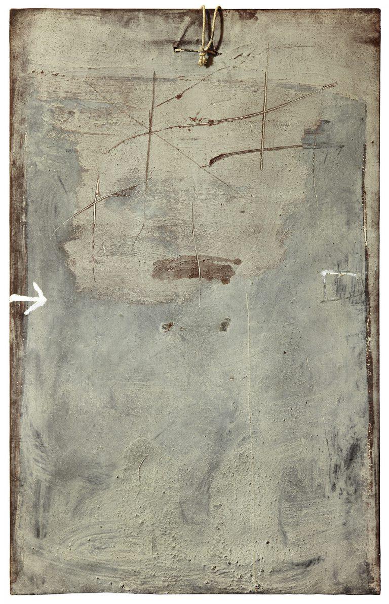 Obra de Tàpies a la Galeria Mayoral