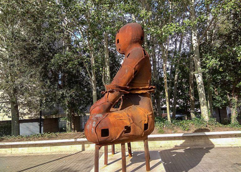 La imatge imponent dels 'Guardians', a Barcelona | Ramon Casalé