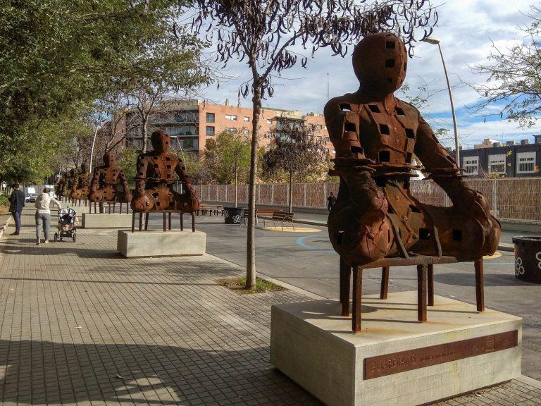 Els 'Guardians', a Barcelona | Ramon Casalé