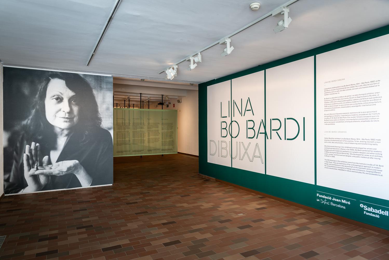 'Lina Bo Bardi dibuixa', a la Fundació Miró              | Fundació Miró