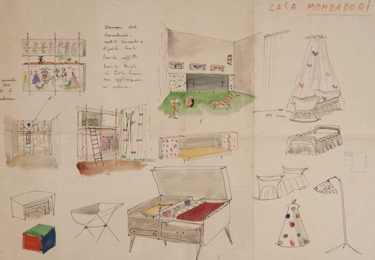 Obra inclosa a l'exposició 'Lina Bo Bardi dibuixa', a la Fundació Miró