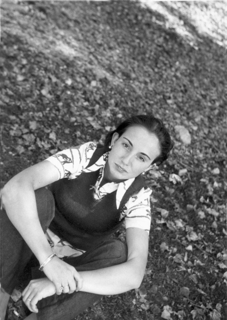 Ruscalleda, de jove a Sant Pol. Foto: Arxiu família Ruscalleda