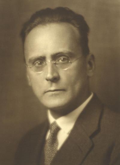 El compositor Anton Webern