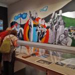 El mural collage Joies essentielles, plaisirs nouveaux, fet per a l'Exposició Internacional de París del 1937