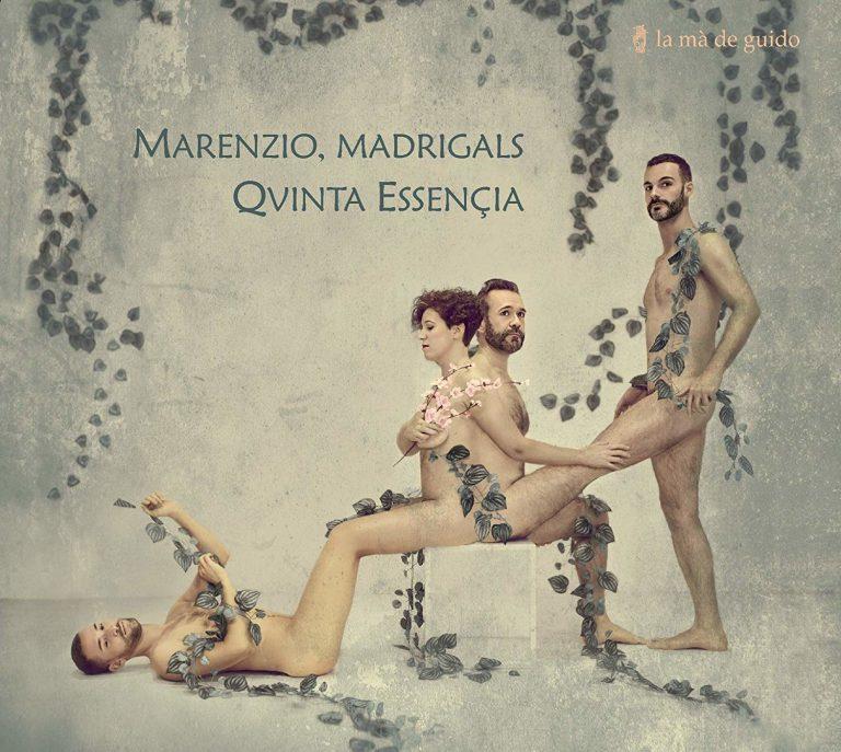 El disc 'Luca Marenzio, Madrigals de Qvinta Essençia' aparegut aquest 2019 al segell La mà de Guido.