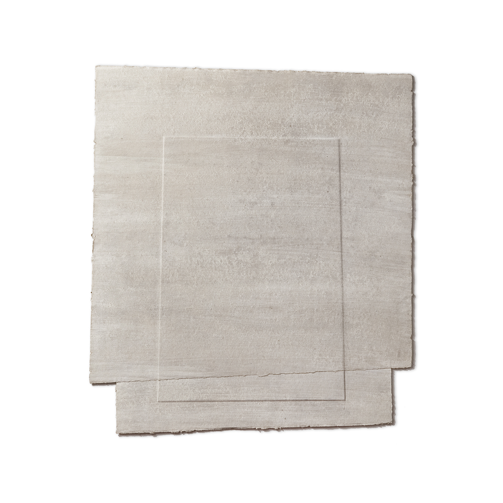 Furriols 'ST' 1989 paper tenyit 63,4x55,4cm