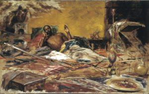 Antoni Fabrés. Repòs del guerrer, 1878. Donació de l'artista, 1925. Museu Nacional d'Art de Catalunya