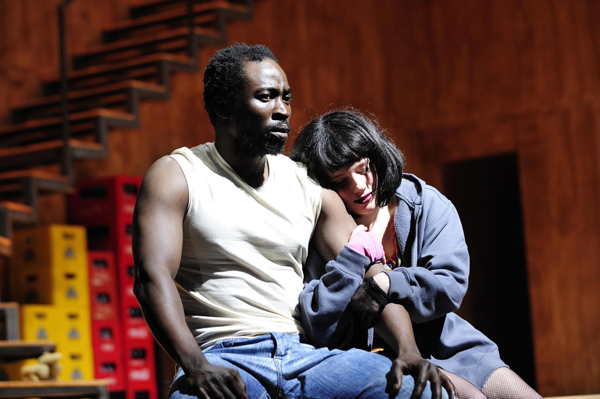 El 'Terra baixa' de Hasko Weber al Romea, el 2009, ens presentava un Manelic negre encarnat per Babou Cham
