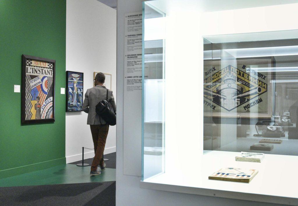 Les avantguardes històriques 1914-1945. Construint nous mons es podrà visitar fins al 15 de setembre de 2019 al CaixaForum Barcelona.