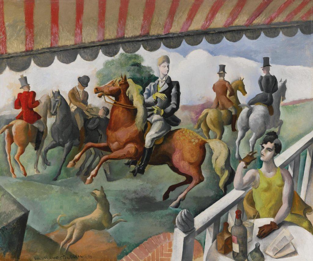 Les cavaliers, de Mariano Andreu