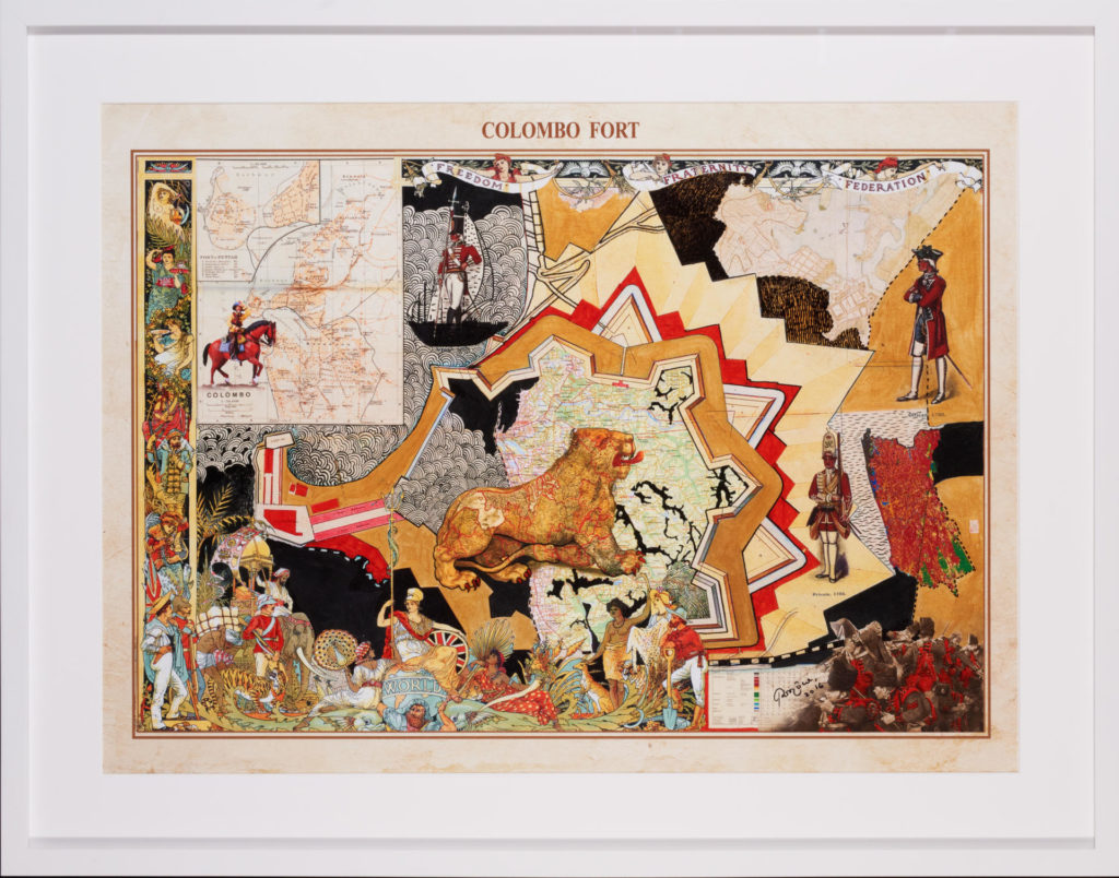Pala Pothupitiye, Other Maps Series, 2016, Singapore Art Museum