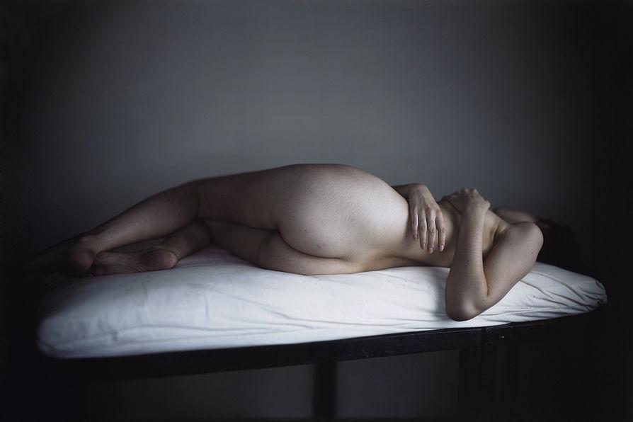 Una de les imatges de l'exposició del fotògraf Richard Learoyd. Foto: Fundació Mapfre