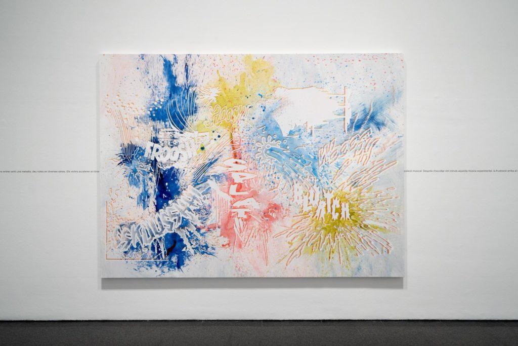 Vistes de l'exposició Christian Marclay. Composicions, 2019. Foto: Miquel Coll
