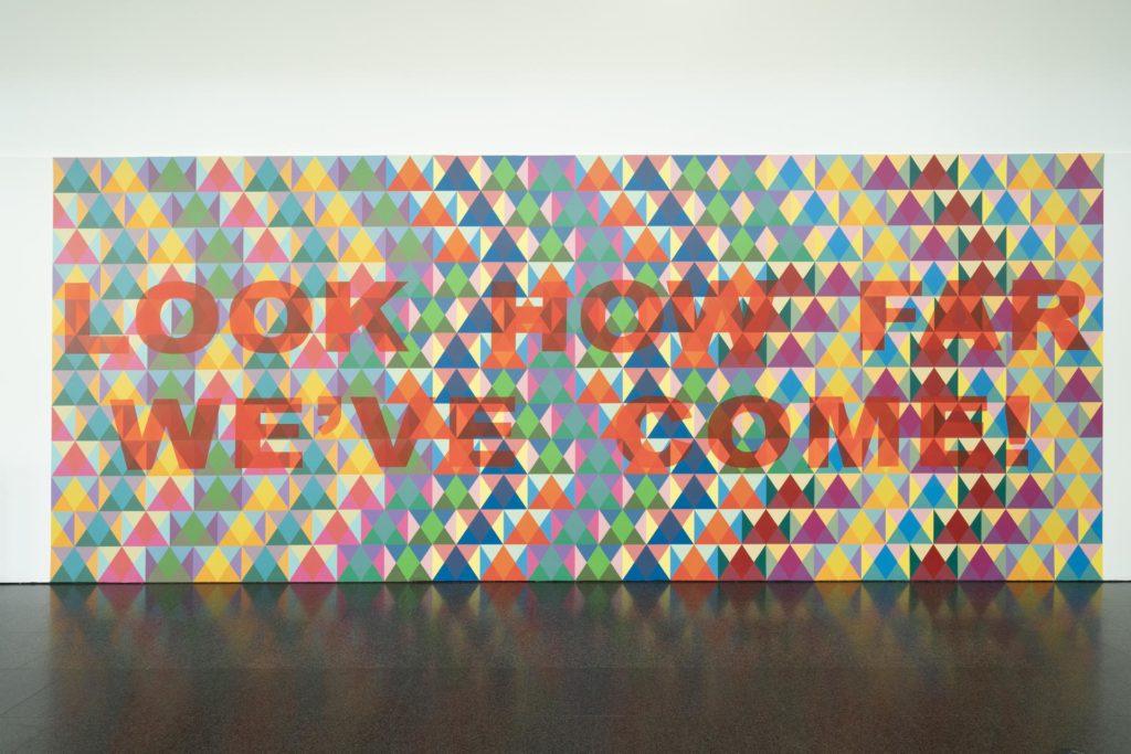 Una imatge de l'exposició 'Territoris indefinits', al MACBA. Foto: Miquel Coll