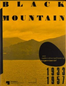 Coberta de 'Black Mountain: An Interdisciplinary Experiment, 1933–1957'