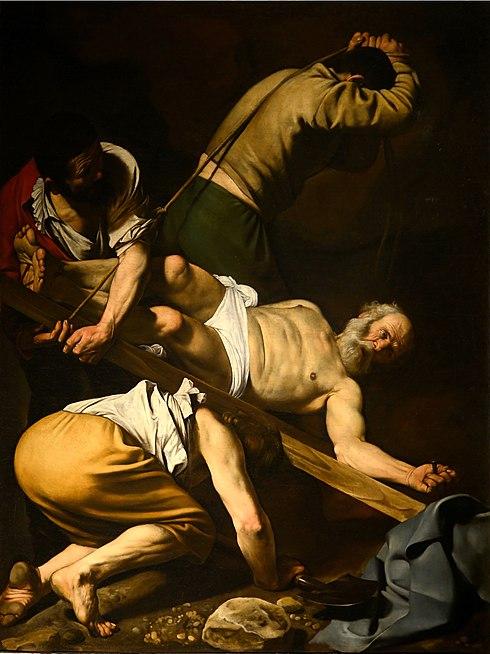 La Crucifixió de Sant Pere, de Caravaggio
