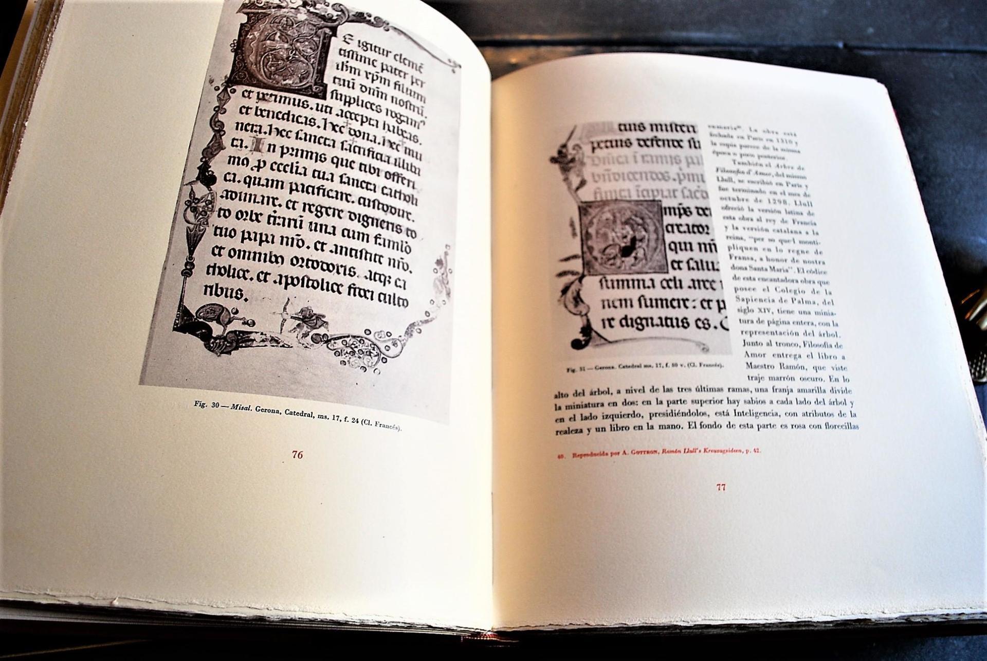 Pere Bohigas i Balaguer La ilustración y la decoración del libro manuscrito en Cataluña