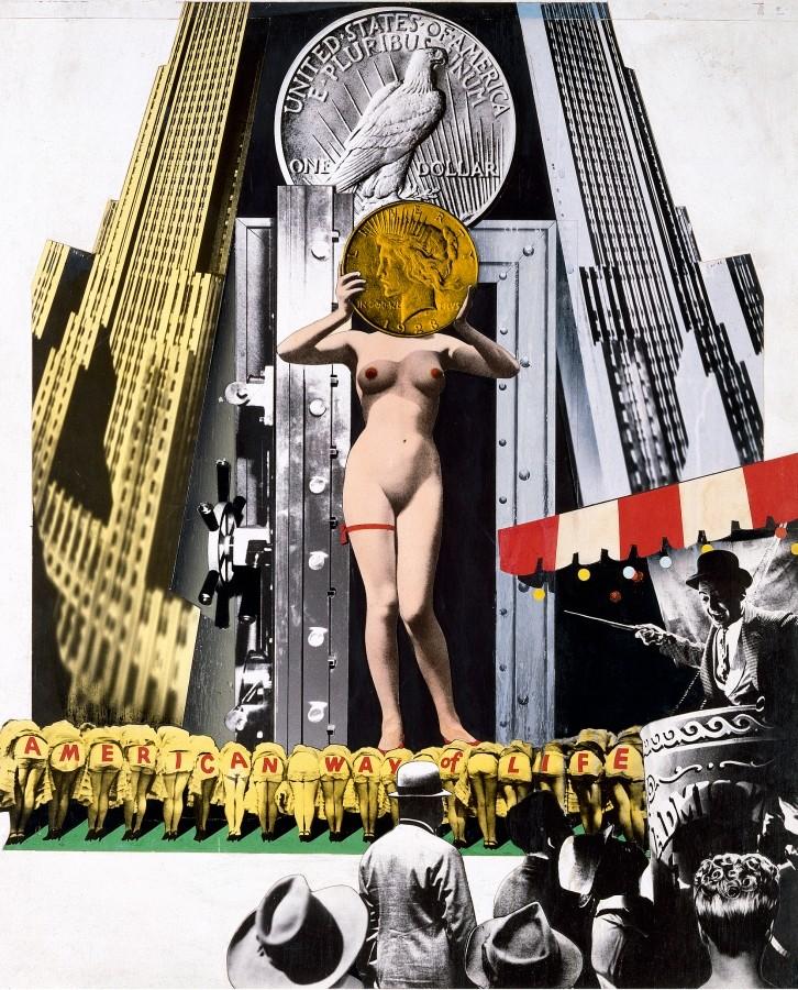 Una de les obres de Josep Renau que es poden veure en l'exposició al Born. Foto: Born CCM