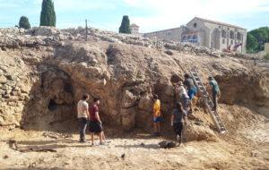Les excavacions del 73è Curs d'Arqueologia d'Empúries posen al descobert la façana portuària de la ciutat grega