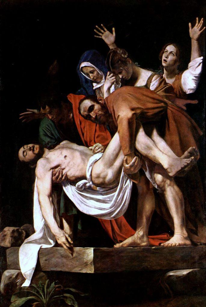 L'enterrament de Crist, de Caravaggio
