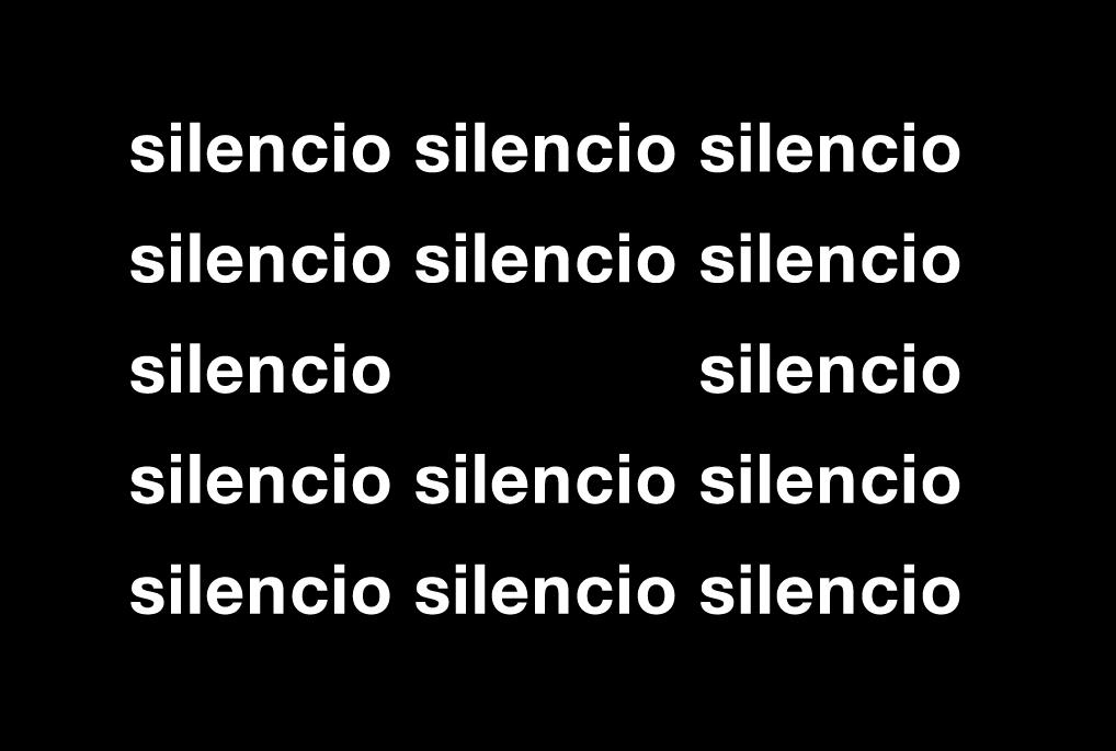 'En silencio', de Gomringer