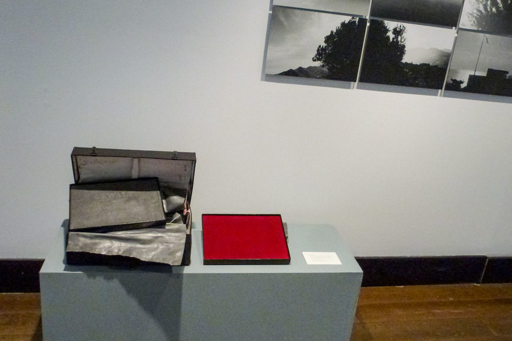 Imatge de l'exposició 'Temps de plom i plata'. Foto: Abel Figueras