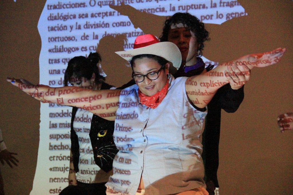 """Cabello Carceller, """"Ballar el génere"""". Foto: Olar Zapata"""