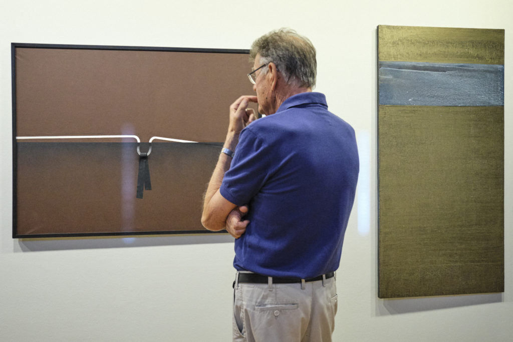 '70's – 90's. D'una certa abstracció a l'art conceptual', al Museu d'Art de Girona