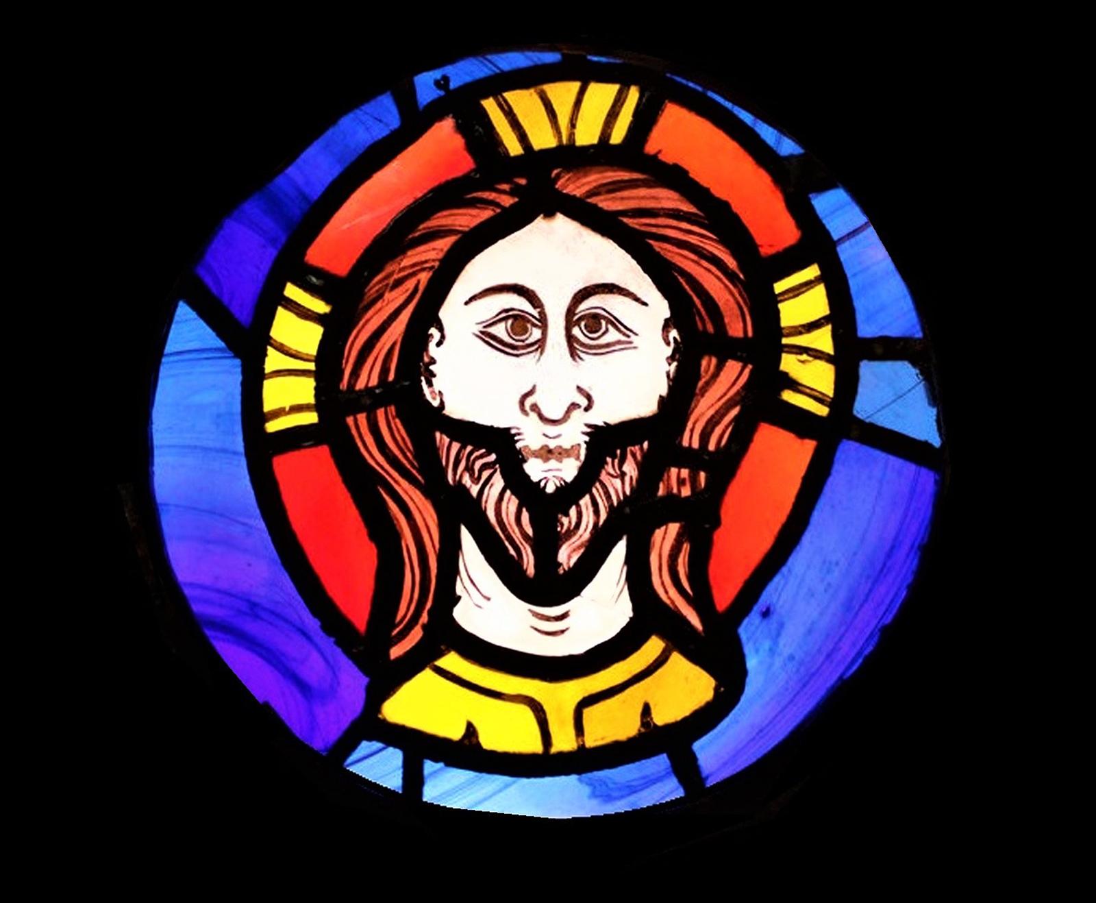 Fragment dels vitralls de la Catedral de València