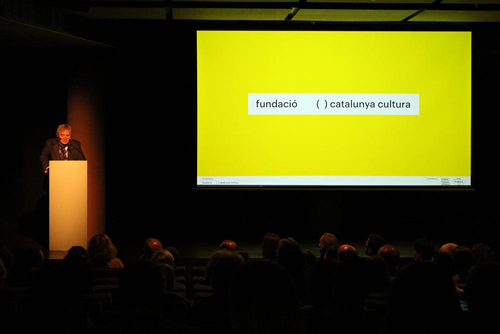 Presentació dels projectes la Fundació Catalunya Cultura. Foto: FCC