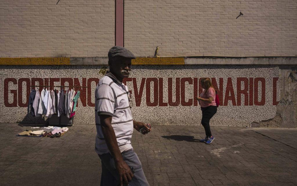 Foto de l'exposició 'Paradís perdut', sobre Veneçuela // ADRIANA FERNÁNDEZ LOUREIRO