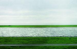 Andreas Gursky. Rhine II, 1999