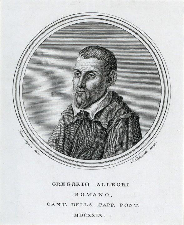 """El compositor Gregorio Allegri, autor del famós """"Miserere"""". Foto: Wikimedia Commons"""