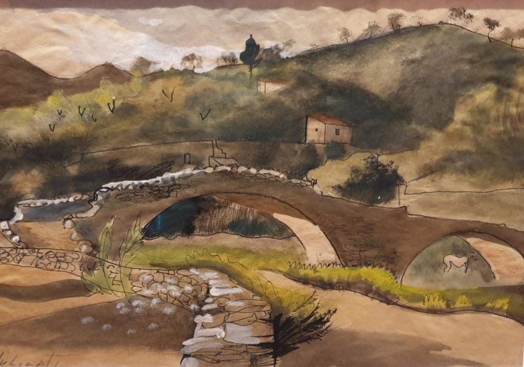 El pont damunt del Ciurana